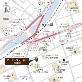 マーシュフィールド四番町案内図