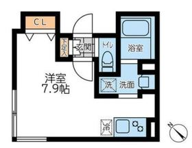 LEGALAND神楽坂北4階Fの間取り画像
