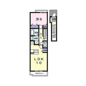 トランキルジャンティ2階Fの間取り画像