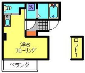 プチシャトー3階Fの間取り画像