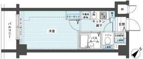 フェニックス新横濱エオール2階Fの間取り画像