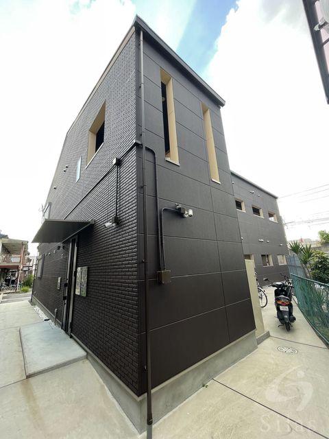 茨木市蔵垣内2丁目の賃貸アパートの外観