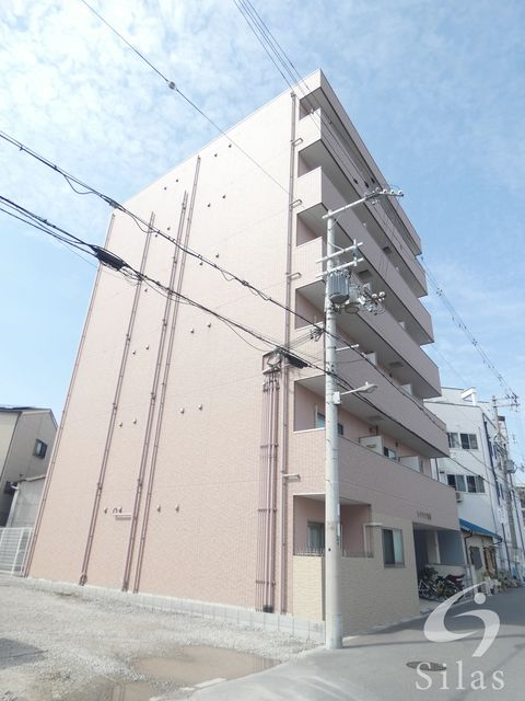 大阪市生野区林寺6丁目の賃貸マンションの外観