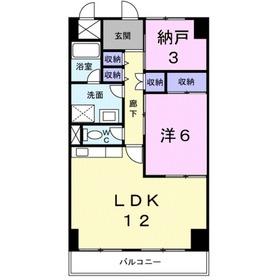 フレッチアフューミーノ2階Fの間取り画像