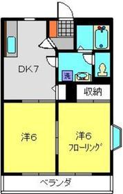 新羽駅 徒歩28分1階Fの間取り画像