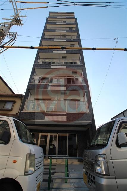 ヴィラペントハウス桑津の外観