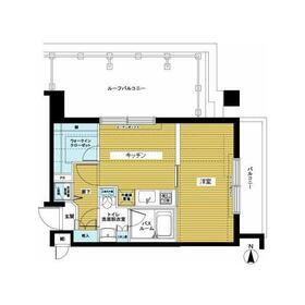 トーシンフェニックス高円寺南5階Fの間取り画像