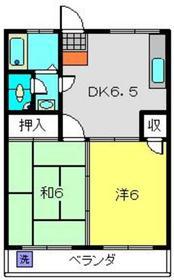 ベイヒルズ横濱金沢2階Fの間取り画像