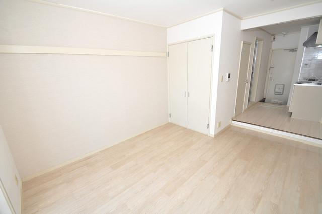 ビオス中小阪 外観との良いギャップが部屋の良さを引き立てています。