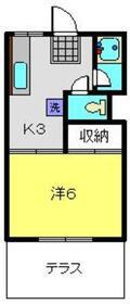 上大岡駅 徒歩8分1階Fの間取り画像