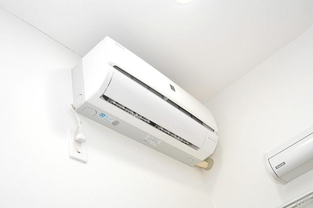 ドゥエマーニ楠根 うれしいエアコン標準装備。快適な生活が送れそうです。