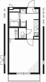 リブリ・セレノ1階Fの間取り画像