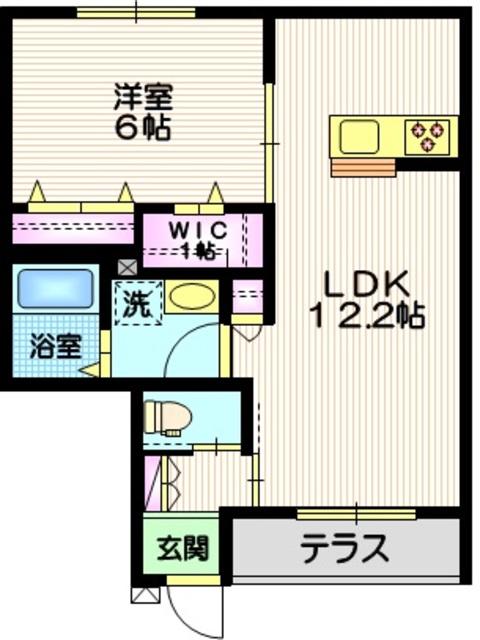 (仮称)相模原市中央区共和2丁目メゾン間取図