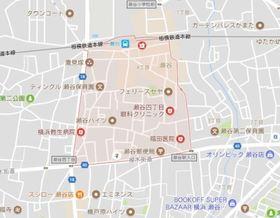 エマーレ横浜瀬谷案内図