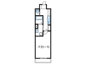 ネオブロッサム3階Fの間取り画像
