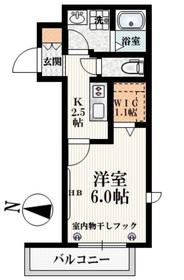 高田馬場駅 徒歩9分3階Fの間取り画像