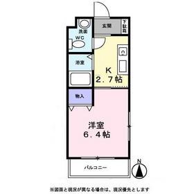アンシェント西鎌倉1階Fの間取り画像