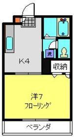 サウスポイント横浜1階Fの間取り画像