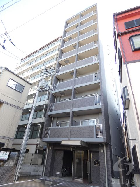 大阪市東住吉区杭全2丁目の賃貸マンションの外観