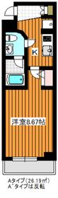MAXIV成増4階Fの間取り画像