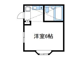 メゾンM&Y1階Fの間取り画像