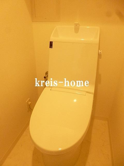 オークスクエア新川トイレ