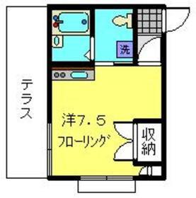 ダイユー7番館1階Fの間取り画像