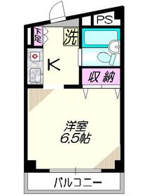 ソード・K5階Fの間取り画像