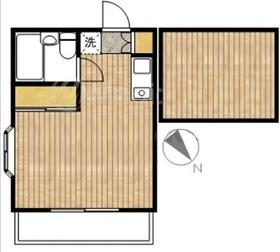 ラフォレ2階Fの間取り画像