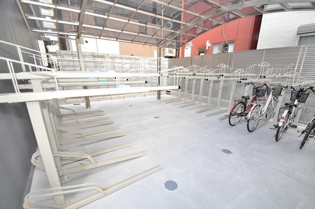 PARK HILLS 北巽 felice 敷地内には専用の駐輪スペースもあります。