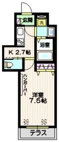 土呂駅 徒歩3分1階Fの間取り画像