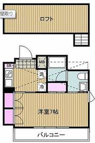 シュロス武蔵新城4階Fの間取り画像