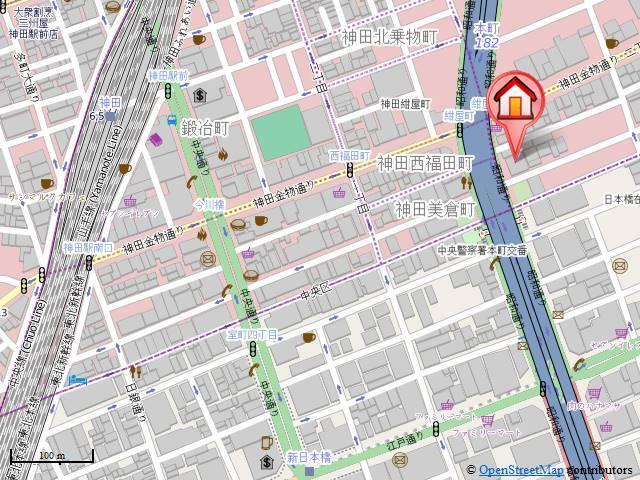 レジディア神田東案内図