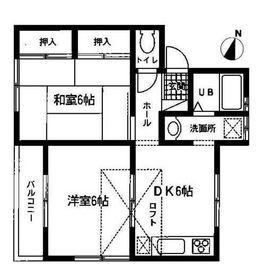 洋光台駅 徒歩24分2階Fの間取り画像
