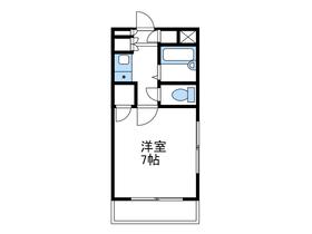 恭和コーポ南台2階Fの間取り画像