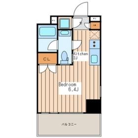 Premium Residence Kawasaki7階Fの間取り画像