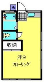 天王町駅 徒歩12分2階Fの間取り画像