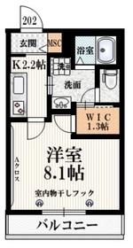 和泉多摩川駅 徒歩25分2階Fの間取り画像
