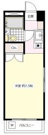 桜新町駅 徒歩6分1階Fの間取り画像