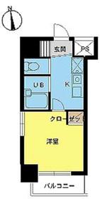 スカイコート高田馬場第53階Fの間取り画像