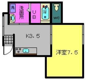 みとみビル3階Fの間取り画像