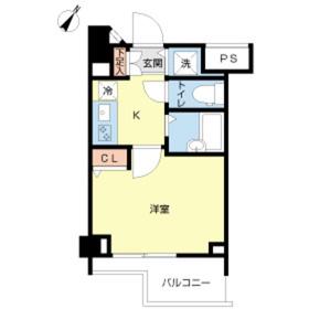 スカイコート新宿弐番館3階Fの間取り画像