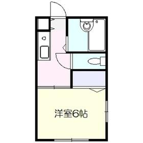 アネックスYAMAMURA2階Fの間取り画像