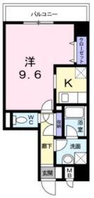 ポルトソーレ5階Fの間取り画像