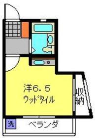 ナンシーズホーム1階Fの間取り画像