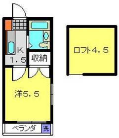 日吉第二QSハイム1階Fの間取り画像
