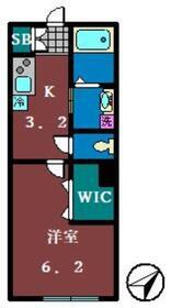 仮 船橋市本町4丁目PJ1階Fの間取り画像