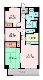 グレイスコート二俣川 弐番館4階Fの間取り画像
