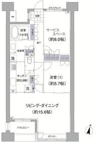 アビティ目黒1階Fの間取り画像