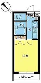 スカイコートよみうりランド第21階Fの間取り画像